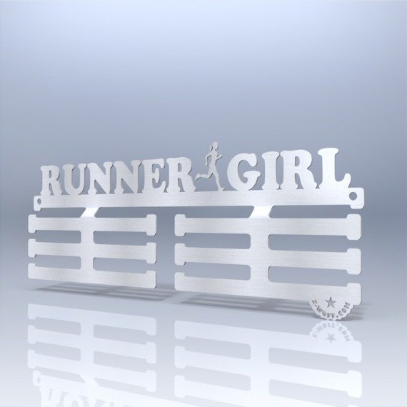 Wieszak na medale Wall Of Fame RUNNER GIRL